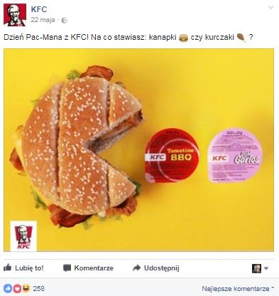 angażujące posty facebook social media