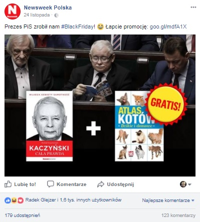 newsweek promocja real time marketing