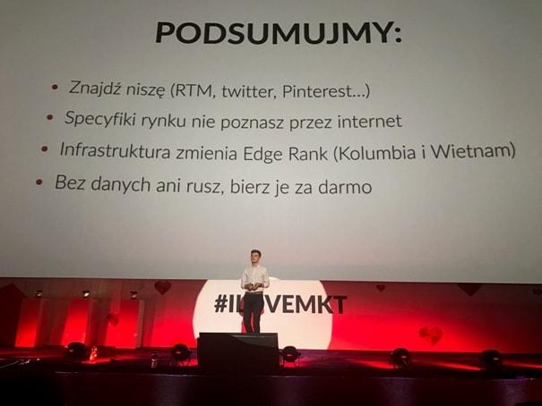 Jakub Biel na I love marketing & social media