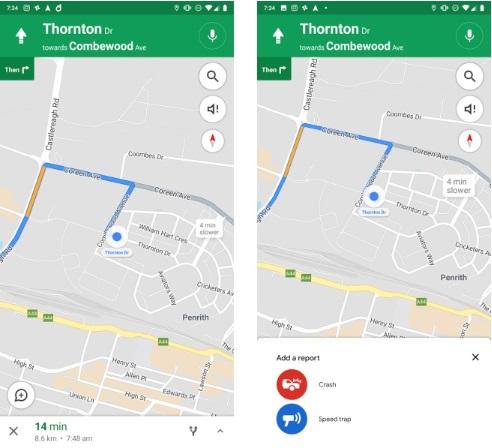 Google Maps pokaże fotoradary