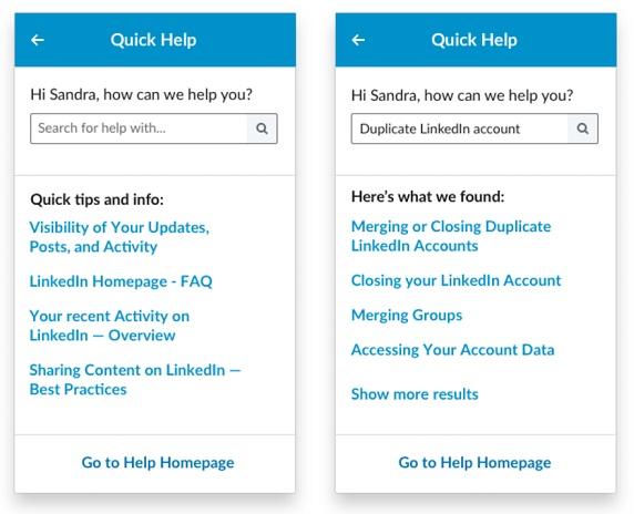 LinkedIn z nowymi opcjami pomocy