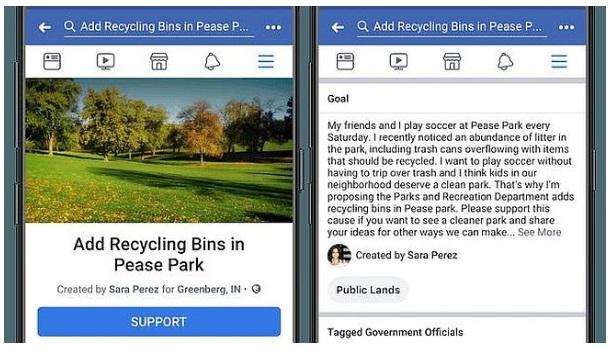 Wirtualne petycje na Facebook