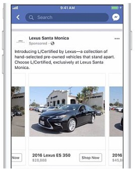 Automotive Inventory Ads na Facebooku