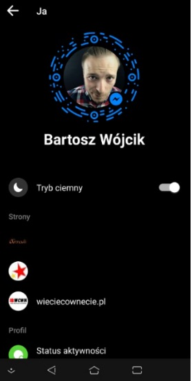 Dark Mode na Messengerze już dostępne