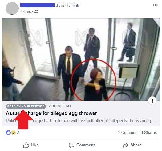 facebook zasugeruje artykuły czytane przez znajomych