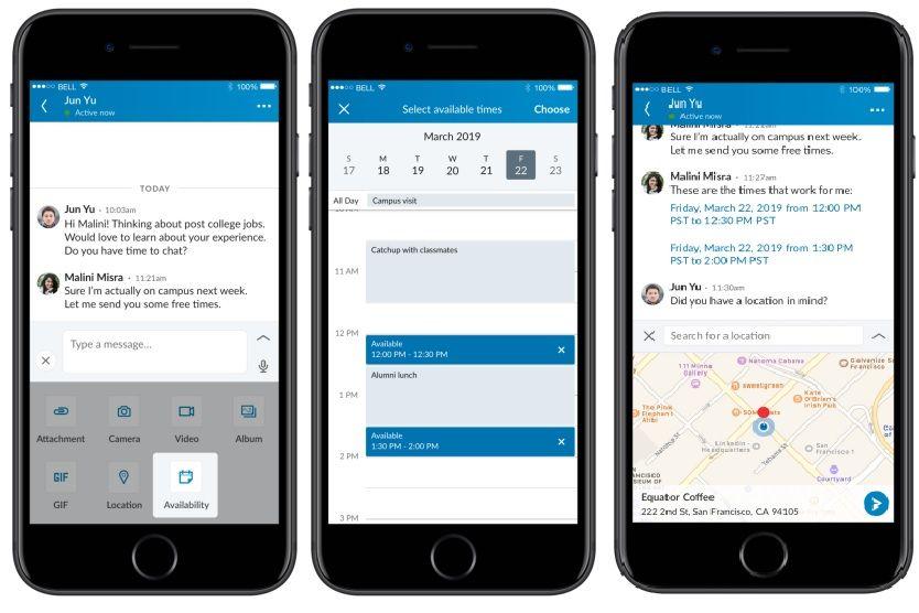 LinkedIn wprowadza nowe opcje w komunikatorze