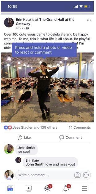 nowy sposób zostawiania reakcji na Facebooku