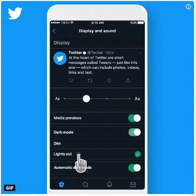 Jeszcze ciemniejszy Dark Mode na Twitterze