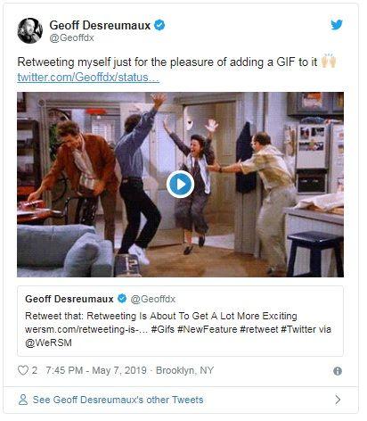 twitter wprowadza gify w retweetach