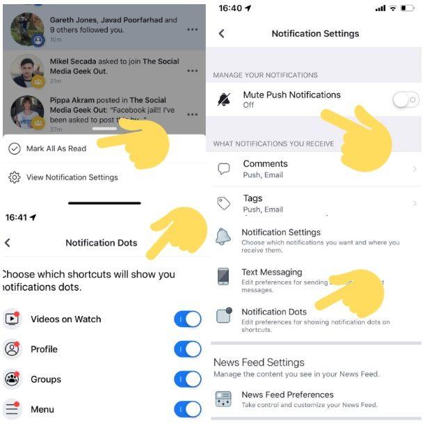 Facebook testuje wyciszenie wszystkich powiadomień