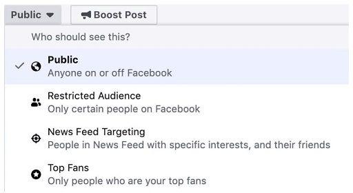 Targetowanie postów organicznych do największych fanów Facebook