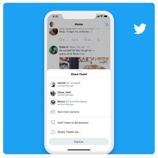 Twitter nowe funkcje komunikacji
