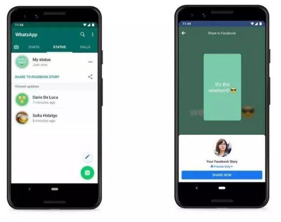 Whatsapp testuje udostępnianie Stories w innych aplikacjach