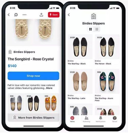 pinterest wprowadza nowe opcje zakupowe