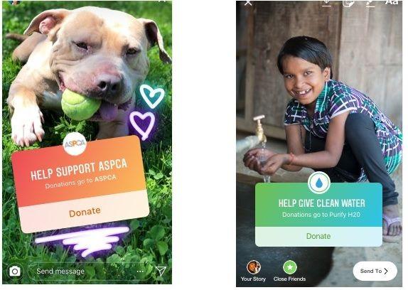 zbiórki charytatywne na Instagramie