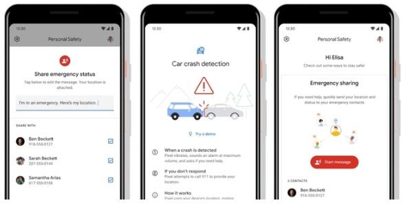 Google testuje Personal Safety