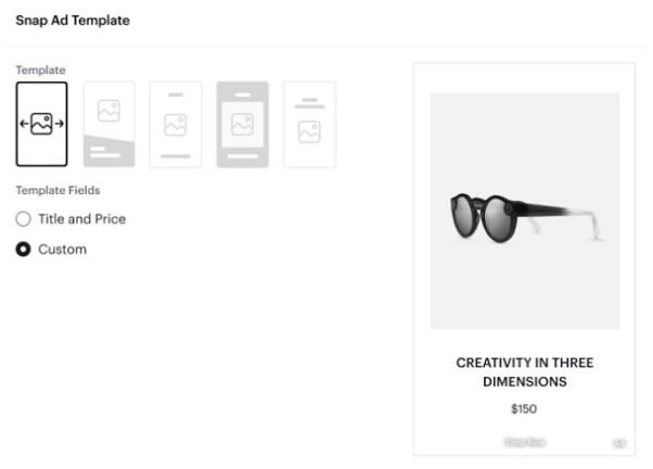 dynamiczne reklamy na Snapchacie