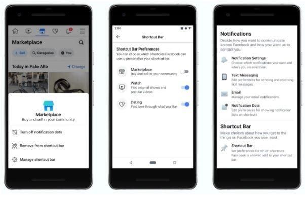 Facebook pozwoli zmienić pasek nawigacyjny