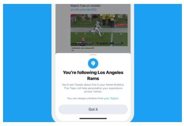 Twitter planuje sekcję Topics